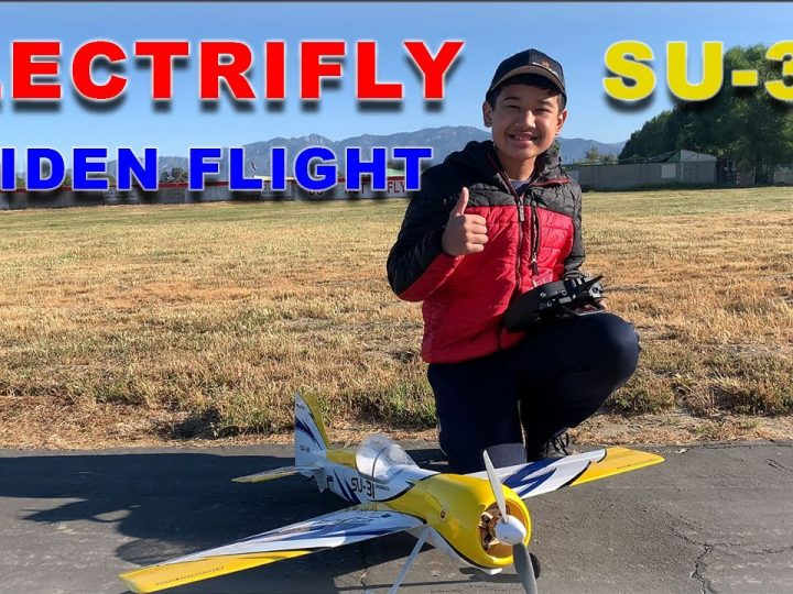 Great Planes Electrifly SU-31 – Review and Maiden!