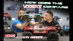 How does the ARRMA VORTEKS compare