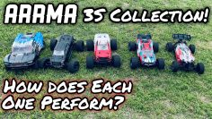 Arrma | 3s Collection! | overview of each Rc | Run footage! |