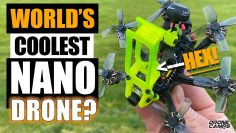 WORLD'S COOLEST DRONE? – Flywoo Firefly Hex Nano Drone – Pregled & FLIGHTS ⚡️