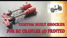 3D PRINTED OIL FREE SHOCKER FOR RC CRAWLER, RC AUTO|| CHEAP AND EFFICIENT || BUILT YOUR RC CRAWLER