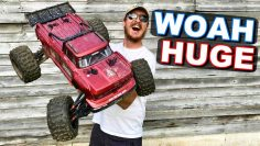 RC MONSTER TRUCK HITS BEAST MODE on Bash Mountain!!! – Arrma Wyrzutek 8s – TheRcSaylors