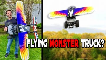 Diy Flying RC Coche – ¿Vuela?