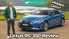 Lexus RC 350 2021 Αναθεώρηση | V6 coupe driven | Chasing Cars