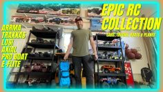 EPIC RC COLLECTION – Cars, Trucks, Planes, & Boats – Arrma, Traxxas, Losi, Axial