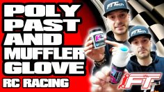 RC car Poly Past & Muffler Glove