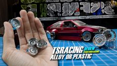 MINI RC DRIFT [ TSRACING RIMS  ] #REVIEW #UNBOX [ ALLOY OR PLASTIC ]