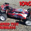 Wltoys 104001 Brushless – First Speed Run Tests!