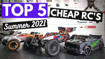 Вверх 5 Cheap RC's for Summer 2021!