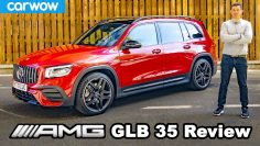Mercedes-AMG GLB 35 Pregled – 0-60Mph, 1/4-mile & brake tested!