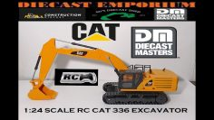 Diecast Masters 1:24 Scale Remote Control Cat 336 Pelle