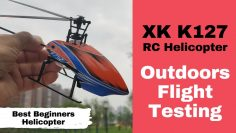 XK K127 Best Beginners Helicopters Outdoor Flight Test Review
