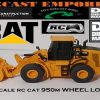 Diecast Masters RC Remote Control CAT 950M Wheel Loader 1:35 Skali