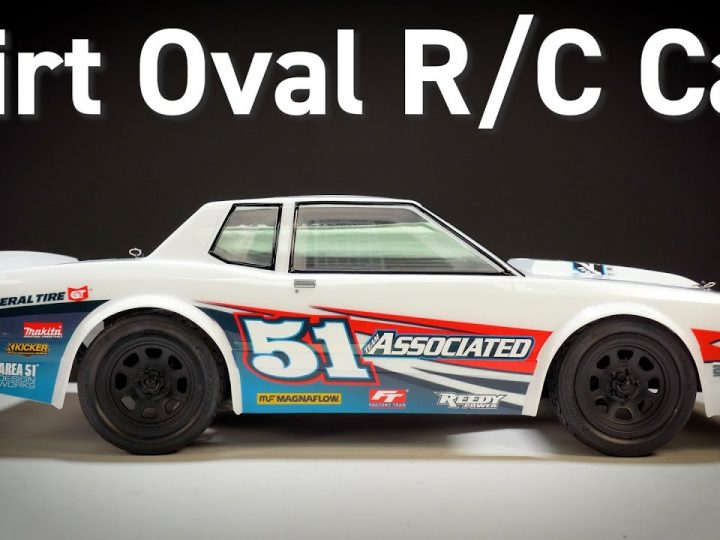 SR10 Street Stock Dirt Oval R/C Car from Team Associated