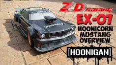 ZD RACING EX07 HOONIGAN MUSTANG VISIÓN GENERAL