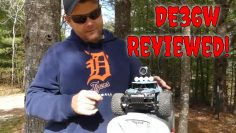 DEERC DE36w Review – 1/16 Scale RC Truck With HD FPV Camera!
