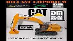 Diecast Masters RC Remote Control CAT 336 экскаватор 1:35 Масштаб