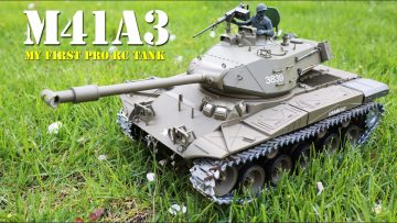 My First Good RC Tank – M41A3 – I Love This Tank! My Review