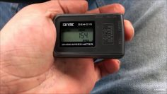 SkyRC GSM-15 GPS Speed Meter logger Unboxing Review Flight test