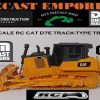 Diecast Masters RC Remote Control Cat D7E Track-Type Tractor 1:35 Scară
