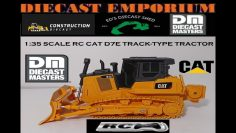 Diecast Masters RC Remote Control Cat D7E Track-Type Tractor 1:35 Skala