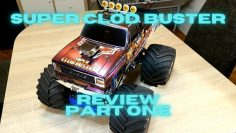 Tamiya Super Clod Buster Review (Partie 1)