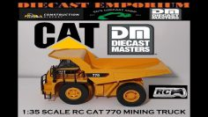 Diecast Masters RC Remote Control Cat 770 Mining Truck 1:35 Scale
