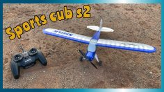 Amazing beginner RC plane (Sports cub S 2) Revisão