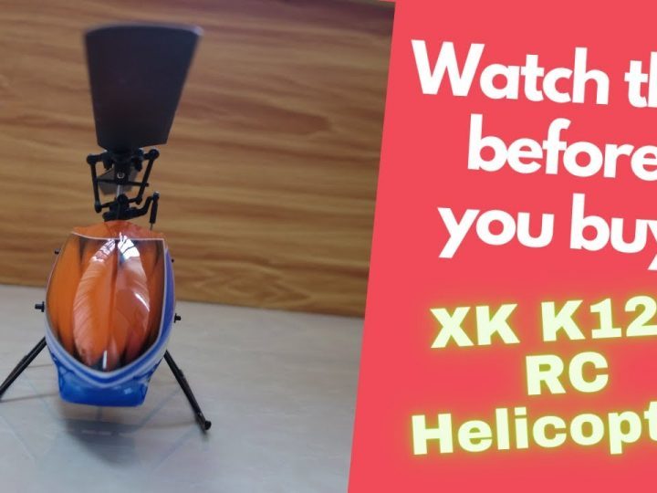 XK K127 6 axis Gyro Beginners Mini RC Helicopter Indoor Flight Review