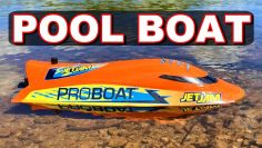 MELHOR & SAFEST RC BOAT for POOLS SUMMER 2021!!! Pro Boat Jet Jam – TheRcSaylors
