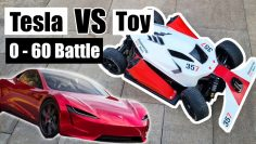 Can an RC Car Beat a Tesla Roadsters 0 – 60 Time?
