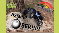 Rc crawler Axial bombé review y prueba!!!crawler adventure. Rc car rock crawling