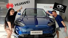 Huawei SERES SF5 Electric Car Review [Inglese]
