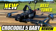 BEST TUNED – GepRc Crocodile 5 Baby Long Range Fpv Drone – Anmeld & COMPARISON