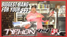 The Best Value In RC – ARRMA TYPHON 3s V3 – Primera mirada & Ejecutar