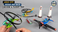 LEGO City 60260 Air Race review & fly test