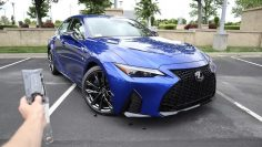 2021 Lexus IS 350 F Sport: Start Up, Escape, Prueba de manejo y revisión