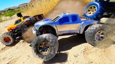 RC Car Custom Sand Wheels Dune Domination!