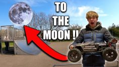 RC Car SENT zum MOON – Kraton EXB XL (Krajave) – Will it Survive ??