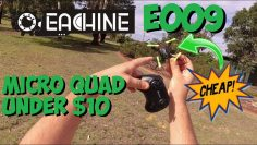 Eachine E009 Review – Good Micro Drone for only $10 👍