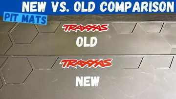 The New Traxxas Pit Mat is Awesome New Vs Old Comparison