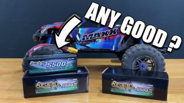 Gensace BASHING Lipo Review in TRAXXAS Maxx