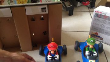 Costco 50 dollars carrera super Mario cart rc car set unbiased unsponsored unboxing part 1