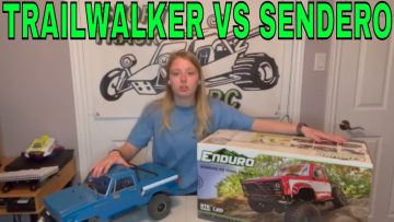 ELEMENT ENDURO SENDERO VS ENDURO TRAILWALKER RC SCALE CRAWLERS REVIEW
