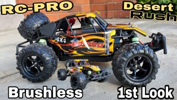 Brushless RC Desert Buggy – RC Pro Desert Rush (First Look)