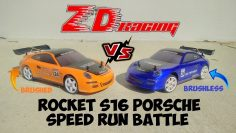 ZD RACING S16 Rakete Porsche 911 Speed Battle – Gebürstete Vs Brushless