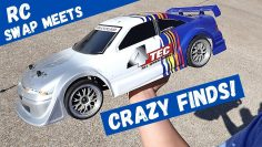 RC Swap Meets Are Back | Vintage Traxxas 4Tec | Awesome Finds Custom RC Cars