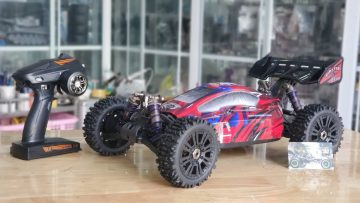 Review xe đua Zd Racing Pirates v3 Buggy – BX 8E Electric Offroad RC car