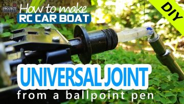 Homemade RC drive shaft | RC car drive shaft universal joint | how to make drive shaft at home