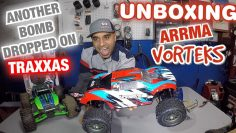 UnBoxing the Arrma Vorteks 3s 4×4 1/10 Caminhão RC | Another Bomb Dropped on Traxxas